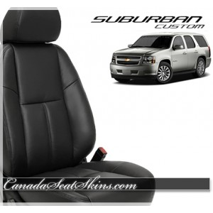 2007 - 2014 Chevrolet Suburban Katzkin Custom Leather Seats