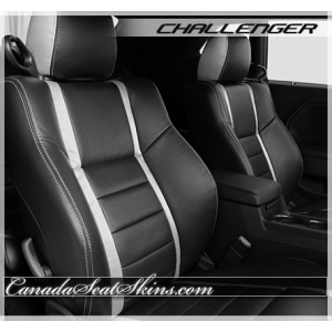 2009 - 2014 Dodge Challenger Katzkin Black Limited Edition Leather Seats