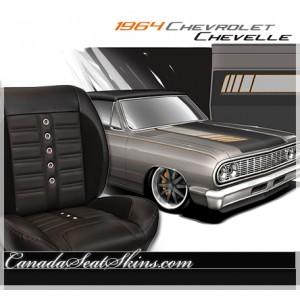 1964 Chevelle Sport XR Restomod Seats