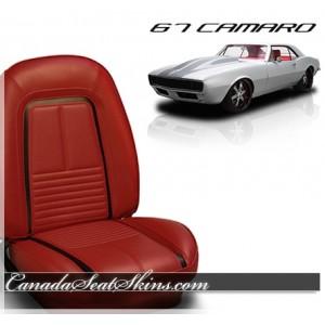 1967 Camaro Deluxe Upholstery Sport Bolstered
