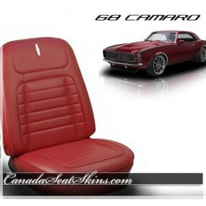 1968 Camaro Deluxe Seat Upholstery