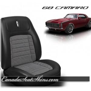 1968 Camaro Sport Bolstered Houndstooth Deluxe Upholstery Kit