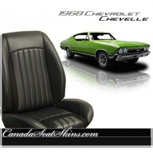 1968 Chevelle Sport R Restomod Seats