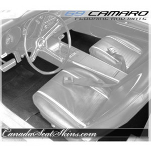1969 Camaro Custom Carpet and Floor Mats
