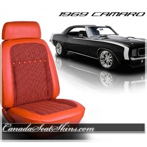 1969 Camaro Deluxe Houndstooth Upholstery