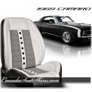 1969 Chevrolet Camaro Houndstooth Custom Seats