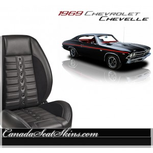 1969 Chevelle Sport XR Restomod Seats