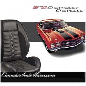 1970 Chevelle Sport XR Restomod Seats