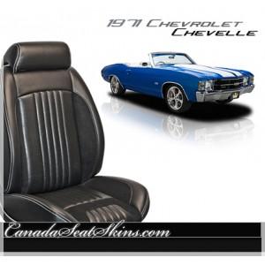 1971 Chevelle Sport R Restomod Seats