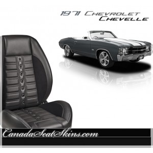 1971 Chevelle Sport XR Restomod Seats