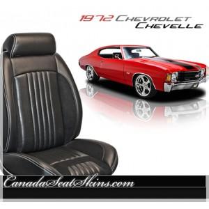 1972 Chevelle Sport R Restomod Seats