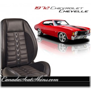 1972 Chevelle Sport XR Restomod Seats