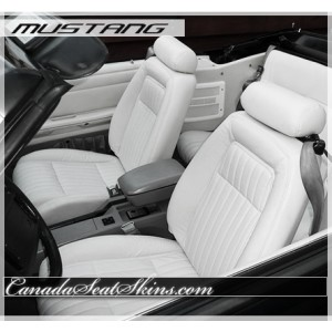 1987 - 1992 Ford Mustang Katzkin Leather Seats