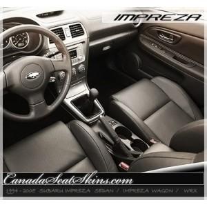 1994 - 2005 Subaru Impreza and WRX Leather Seats