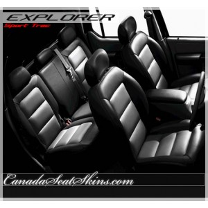 2001 - 2005 Ford Explorer Sport Trac Katzkin Leather Seats