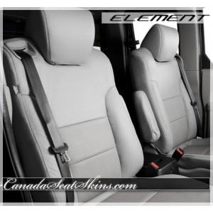 Honda Element Katzkin Grey Leather Seats