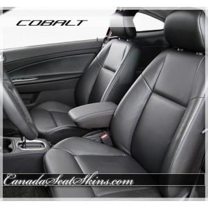 Chevrolet Cobalt Black Katzkin Leather Seats