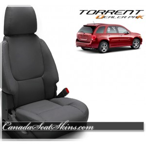 2007 - 2009 Pontiac Torrent Black Wholesale Leather Seats