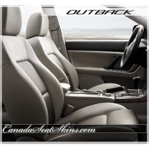 2005 - 2009 Subaru Outback Katzkin Leather Upholstery