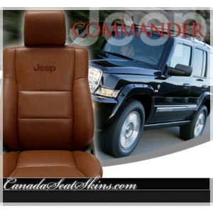 2005 - 2010 Jeep Grand Cherokee Limited Leather Seats