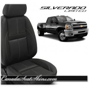 2007 - 2013 Silverado Katzkin Black Carbon Limited Edition Interior