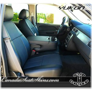 2007 - 2014 GMC Yukon Clazzio Black Slip Over Seat Covers