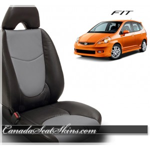 2007 - 2008 Honda Fit Katzkin Custom Leather Seats