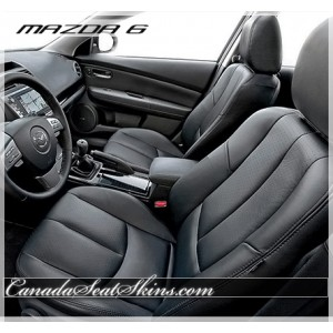 2009 - 2013 Mazda 6 Katzkin Leather Seats