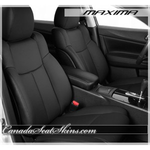 2009 - 2014 Nissan Maxima Black Leather Seats