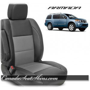 2004 - 2015 Nissan Armada Katzkin Leather Seats