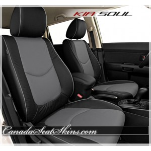 2010 - 2013 Kia Soul Katzkin Leather Seats