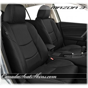 2010 - 2013 Mazda3 Black Katzkin Leather Seats