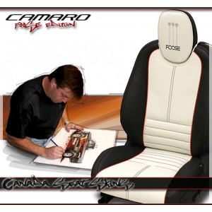 Chip Foose Camaro Custom Leather Interior