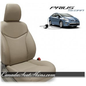 2010 - 2015 Toyota Prius Sedan Katzkin Leather Upholstery