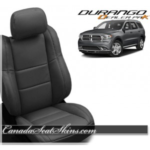 2011 - 2019 Dodge Durango Wholesale Leather Seat Covers Black