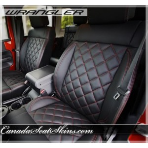 Jeep Wrangler Diamond Stitched Leather Kit
