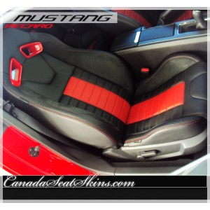 2011 - 2014 Ford Mustang Recaro Leather Seats