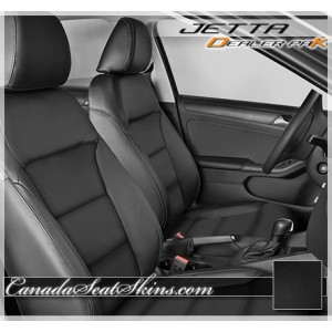 2011 - 2018 Volkswagen Jetta Leather Seat Cover Upholstery Kit