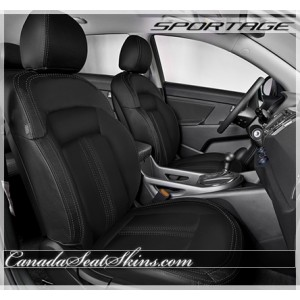 2011 - 2016 Kia Sportage Custom Katzkin Custom Leather Seats