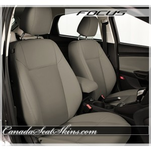 2012 - 2014 Ford Focus Katzkin Beach Leather Interior