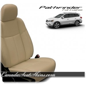 2013 - 2018 Nissan Pathfinder Katzkin Leather Seats