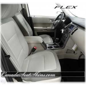 2013 - 2018 Ford Flex Katzkin Custom Leather Interior