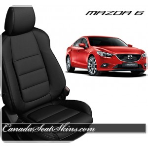 2014 - 2017 Mazda 6 Black Katzkin Leather Seats