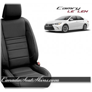 2015 - 2017 Toyota LE Katzkin Leather Seats Black