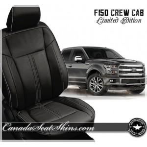 Katzkin F150 Black Limited Edition Leather Upholstery