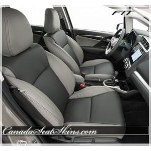 2015 - 2018 Honda Fit Katzkin Custom Leather Seats