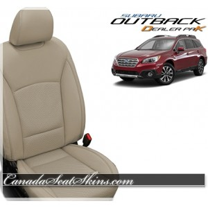 2015 - 2019 Subaru Outback Katzkin Tan Leather Sale