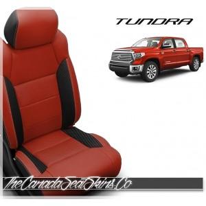 2014 - 2019 Toyota Tundra Katzkin Custom Salsa Leather Seats