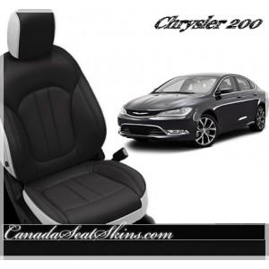2015 Chrysler 200 Katzkin Custom Leather