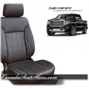 2016 - 2018 GMC Sierra Katzkin Zkintech Leather Seats